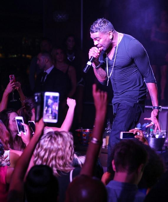 Ginuwine at Hyde Bellagio