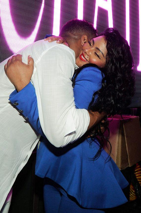 Ginuwine and Lil' Kim at Chateau Nightclub & Gardens