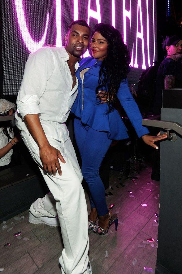Ginuwine Lil Kim Chateau Nightclub Rooftop 588 Latest Vegas Gossip