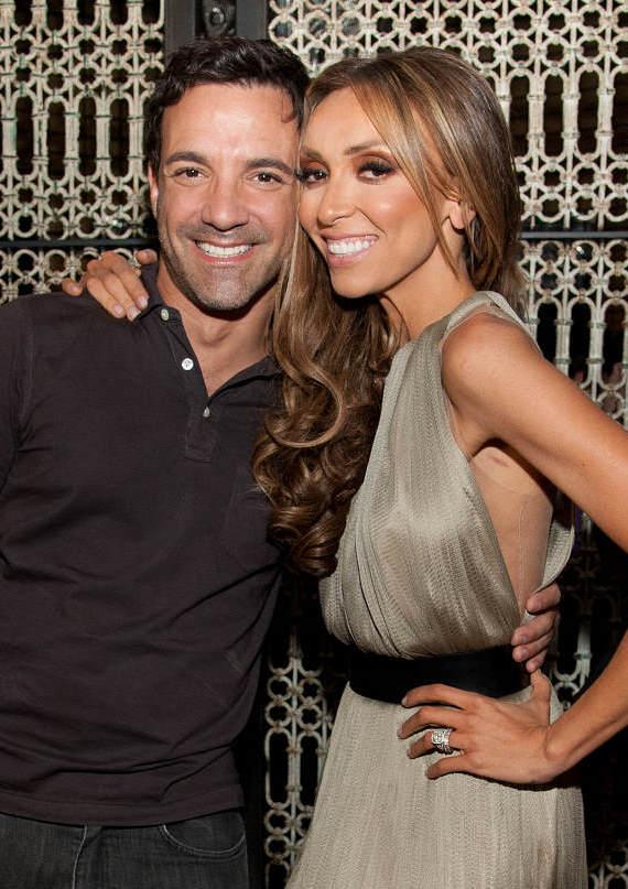 Giuliana Rancic and George Kotsiopolous at LAVO
