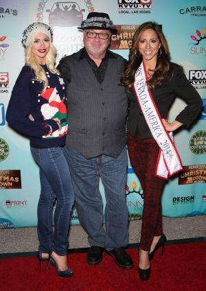 Chloe Crawford of FANTASY; Kevin Burke, Star of Defending the Caveman at Harrah's; and Lavetta Schneider, Mrs. Nevada America 2014