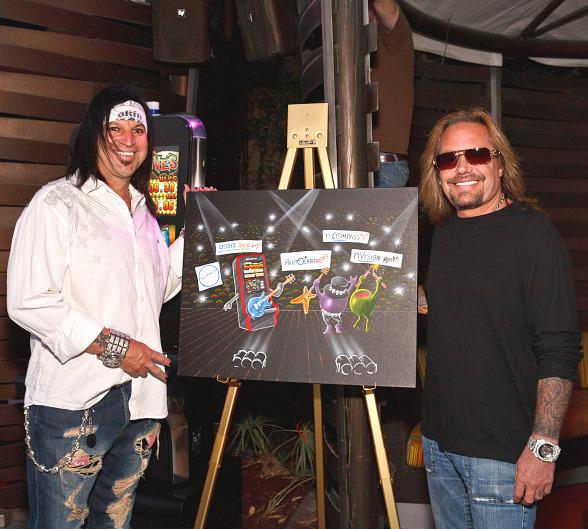 Michael Godard Unveils New Painting at The Palms
