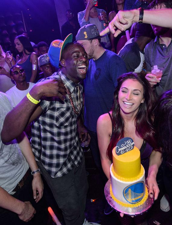 Golden State Warrior Draymond Green at Marquee