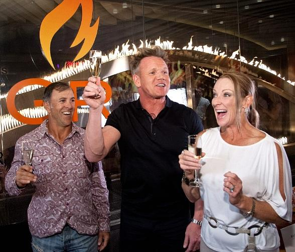 Gordon Ramsay Celebrates One Millionth Burger at Gordon Ramsay BurGR
