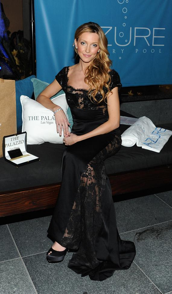 Gossip Girl Katie Cassidy at the Hollywood Style Awards