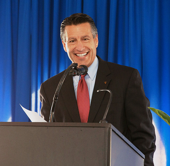 Governor Brian Sandoval at Union Village Henderson Hospital Groundbreaking