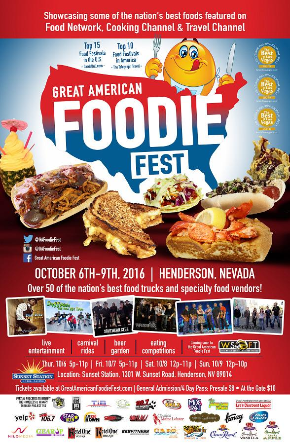 The Great American Foodie Fest returns to Sunset Station on October 6-9