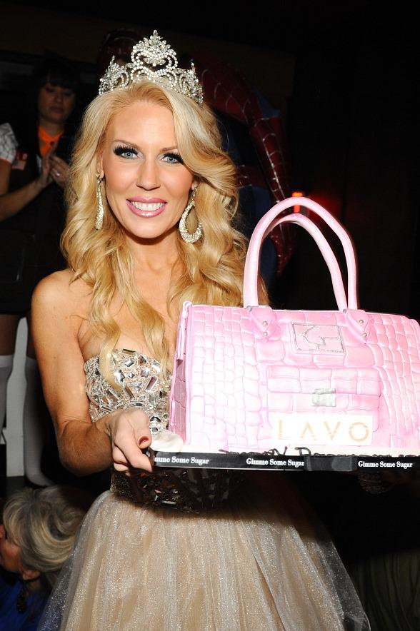 Gretchen Rossi Celebrates 33rd Birthday at LAVO