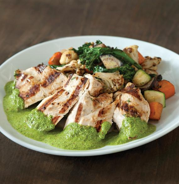 Grilled Chicken Chimichurri