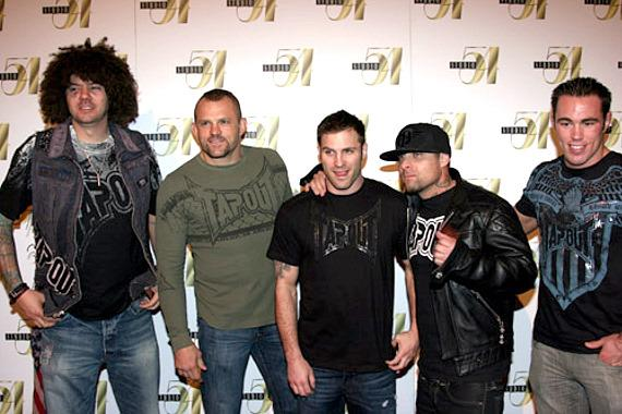 SkySkrape, Chuck Liddell, Scott Epstein, Punkass and Jake Shields
