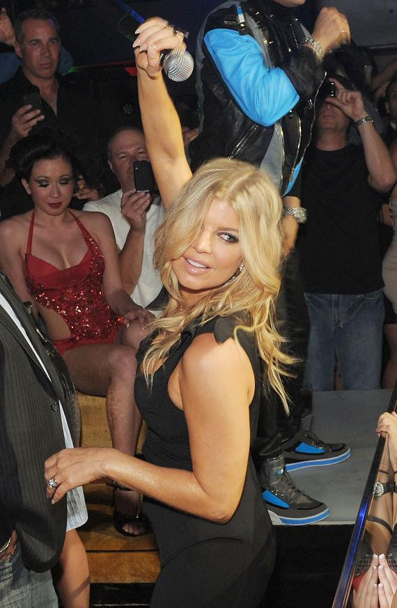 Fergie dances and sings at HAZE