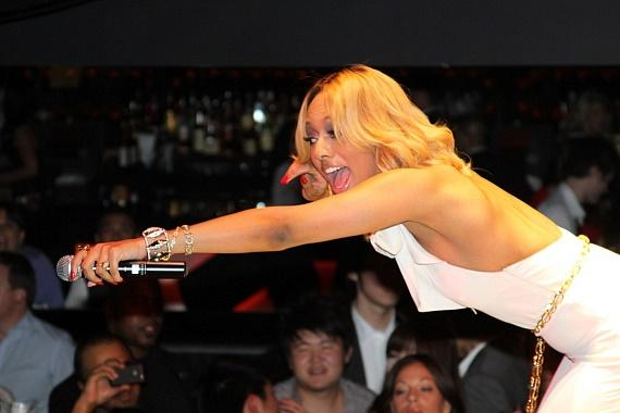 Keri Hilson performs at HAZE Nightclub