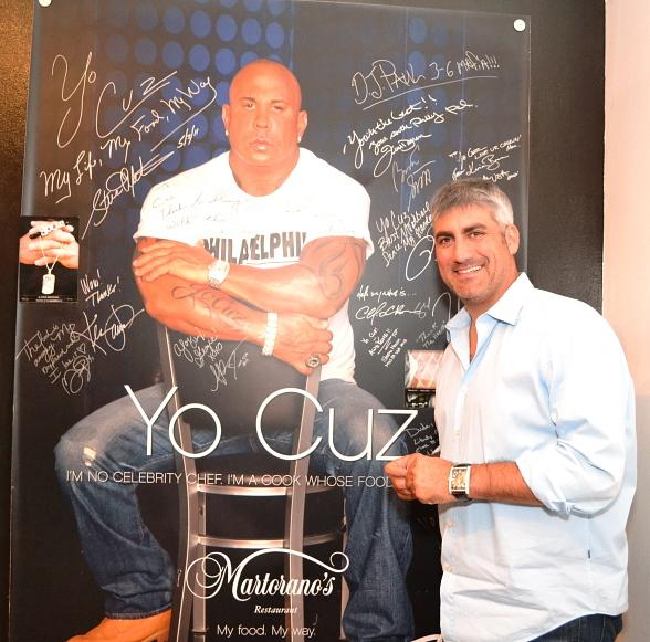 Taylor Hicks at Martorano's
