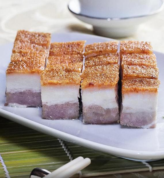 Pork Belly at Hong Kong Café