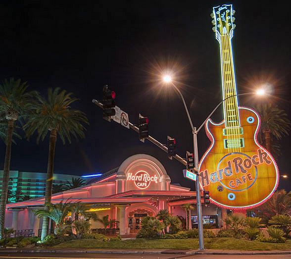 Hard Rock Cafe Las Vegas at Hard Rock Hotel Commemorates 25 Years of Rocking in Paradise with Extended Celebration
