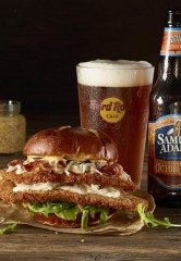 Hard Rock Cafe Raises a Stein to New Octoberfest Burger