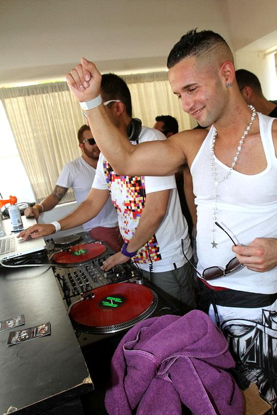 """Mike """"The Situation"""" Sorrentino at REHAB"""