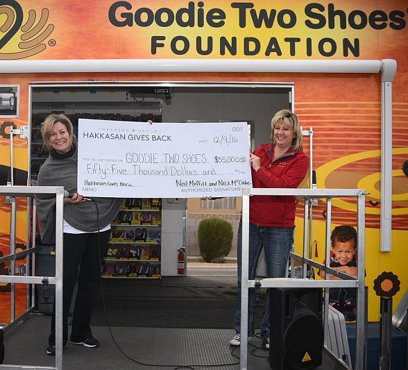 Hakkasan Group Partners with Goodie Two Shoes Foundation for Third Annual Hakkasan Gives Back Initiative