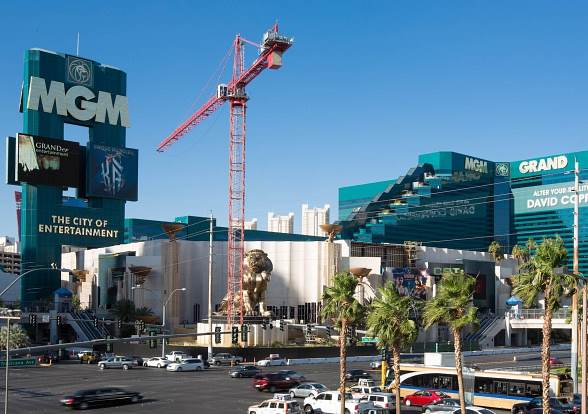 Construction for Hakkasan Las Vegas Underway at MGM Grand Hotel & Casino