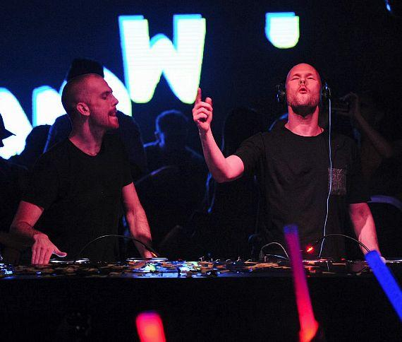 Dada Life performs at Hakkasan Nightclub