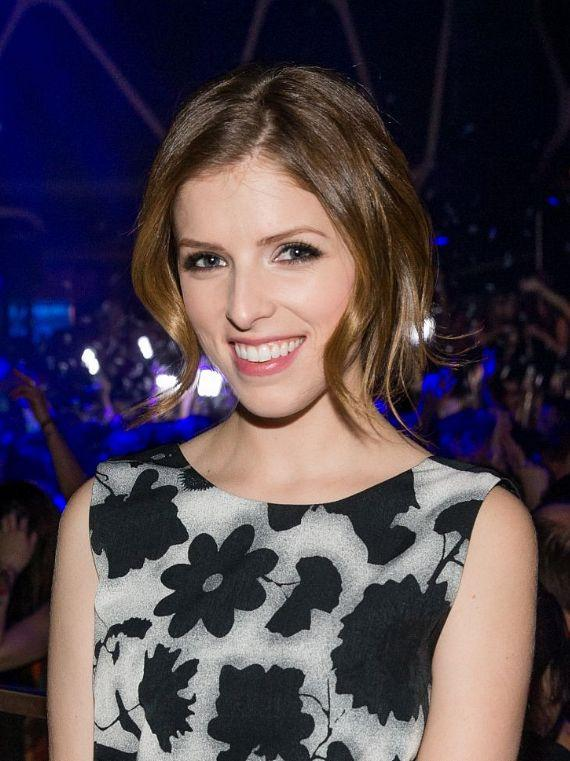 Anna Kendrick at Hakkasan Nightclub
