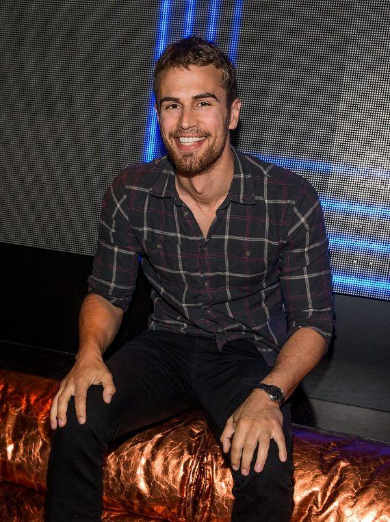 Theo James at Hakkasan Nightclub