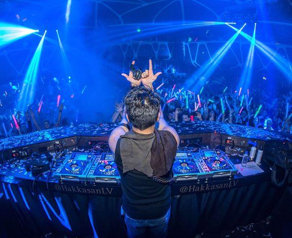 Laidback Luke performs at Hakkasan Las Vegas' Grand Opening