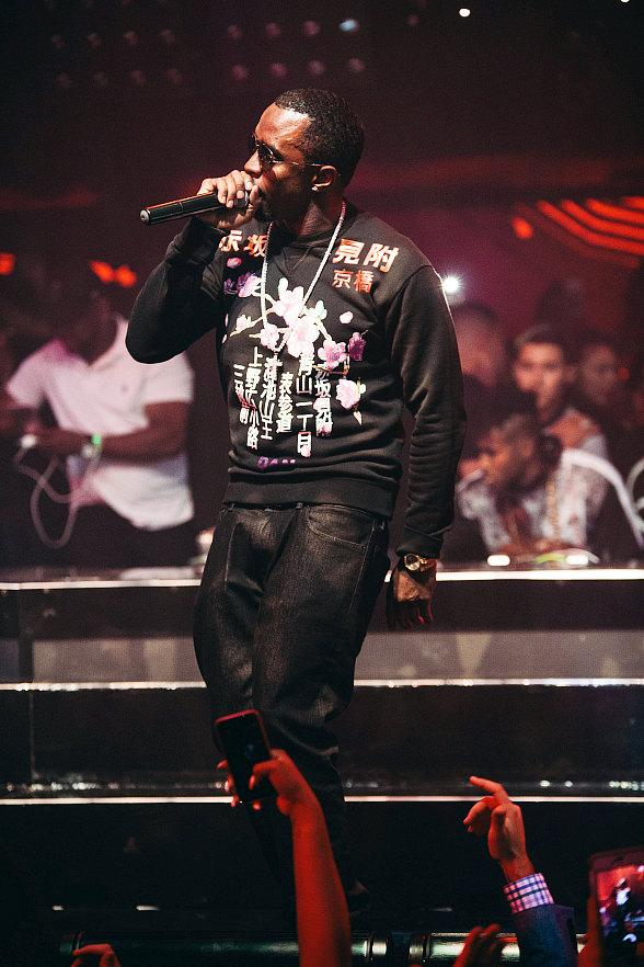 "Puff Daddy Hosts His ""Bad Boy Reunion Tour"" After-Party at Hakkasan Las Vegas"