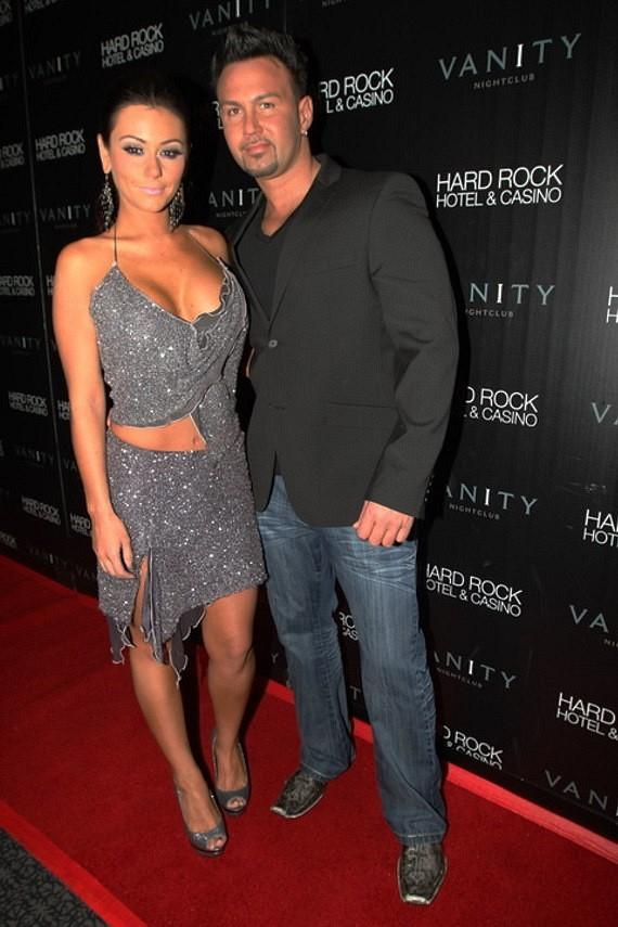 "Jenni ""JWOWW"" Farley and Roger Matthews  in Vanity at Hard Rock Hotel"
