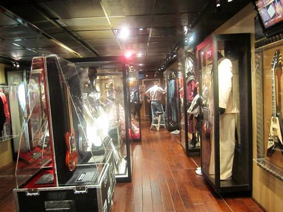 Hard Rock's 40th Anniversary Memorabilia Bus Tour