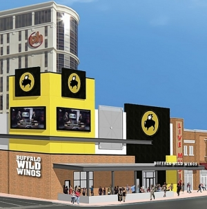 Buffalo Wild Wings to Open First Location on Las Vegas Strip at Miracle Mile Shops Oct. 19