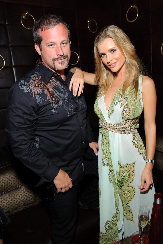 Harrison Forbes and Joanna Krupa at LAVO