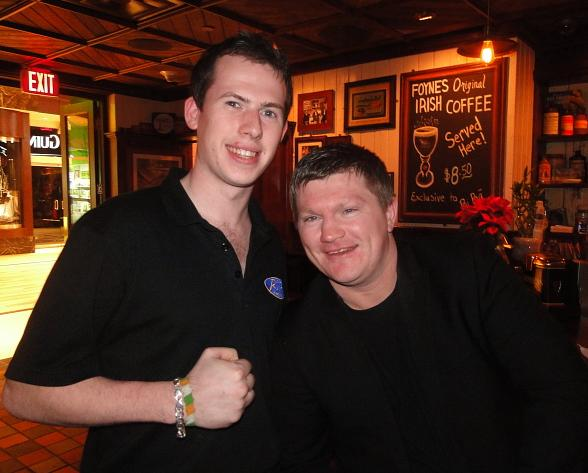 "Ricky ""The Hitman"" Hatton at Rí Rá Las Vegas"