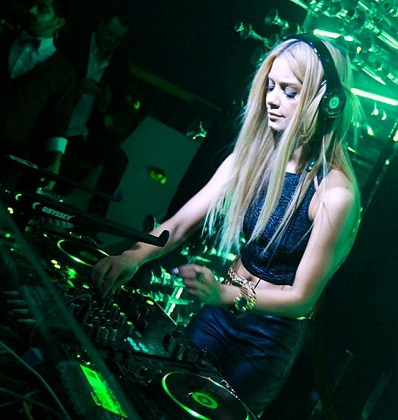 Havana Brown DJing at Hyde Bellagio, Las Vegas