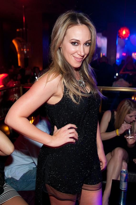 Haylie Duff at Marquee