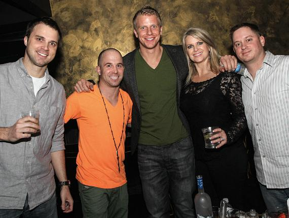 Sean Lowe and friends at HAZE Nighclub
