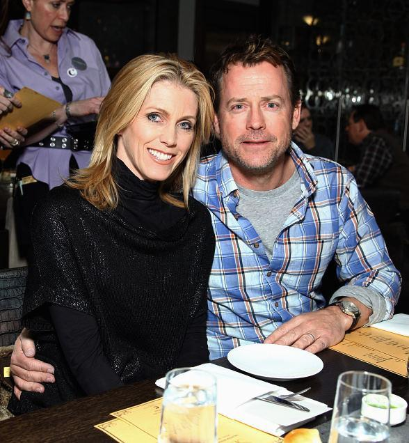 Helen & Greg Kinnear at Silver