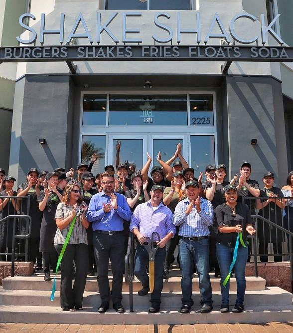 Video Tour of New Shake Shack in The District at Green Valley Ranch in Henderson