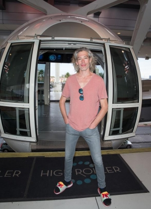 Reggae Artist Matisyahu Visits the High Roller Observation Wheel at The LINQ Promenade