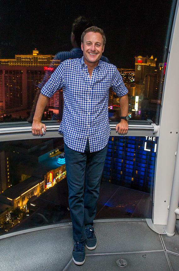 """""""The Bachelor"""" & """"Who Wants to be a Millionaire"""" Host Chris Harrison Takes a Journey on the High Roller Observation Wheel in Las Vegas"""