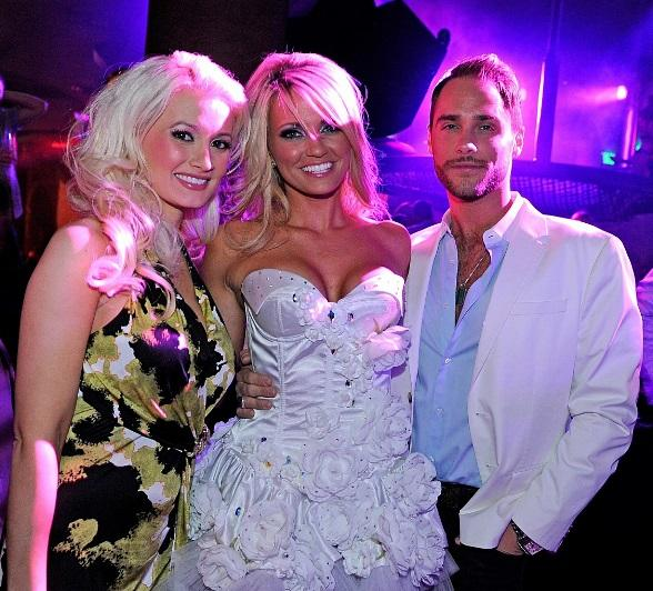 Holly Madison, Angel Porrino and Josh Strickland