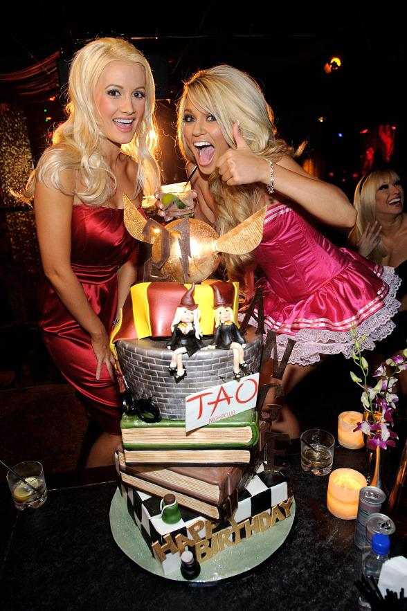 Holly Madison and Angel Porrino
