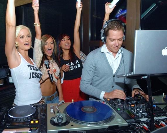 Holly Madison, Brandon Roque, Jesse Waits, Lil Jon at DJ Battle at Blush Boutique Nightclub