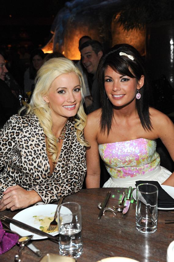 Holly Madison and Laura Croft dine at TAO