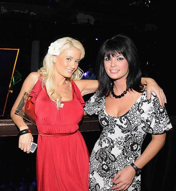 Holly Madison and Laura Croft at Studio 54