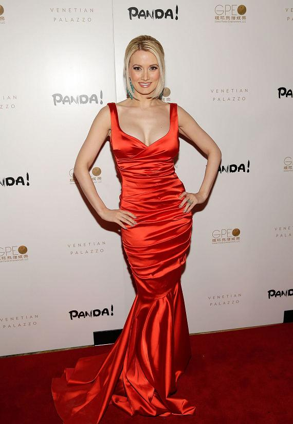 Holly Madison at world premiere of PANDA!