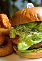 """Urth Burger"" for Earth Day at Holsteins Shakes and Buns"
