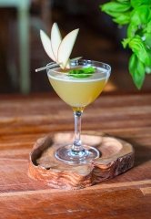Pear Cocktails for Fall at Hearthstone and Salute in Las Vegas