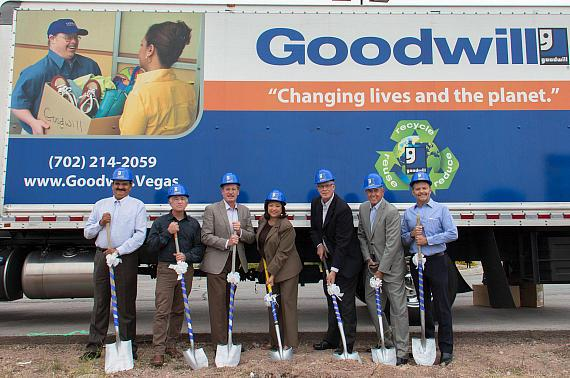 Goodwill Groundbreaking at New Horizon & Boulder Location