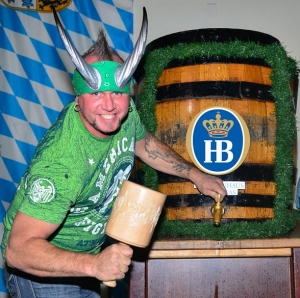 Horny Mike, Thunder From Down Under and Ladies of FANTASY Tap the Final Oktoberfest Kegs at